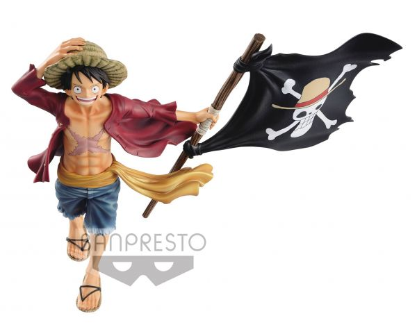 ONE PIECE MAGAZINE LUFFY FIGUR