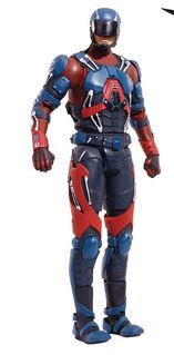 DC MULTIVERSE 15 cm THE ATOM ACTIONFIGUR