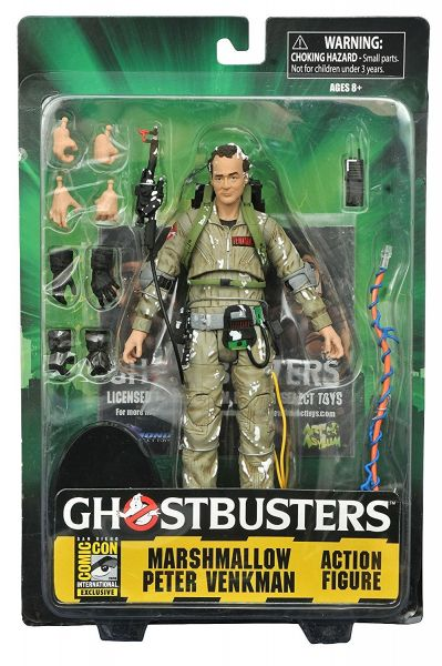 GHOSTBUSTERS SELECT MARSHMALLOW PETER VENKMAN Actionfigur