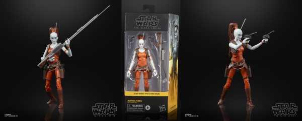 VORBESTELLUNG ! Star Wars The Black Series Aurra Sing 6 Inch Actionfigur
