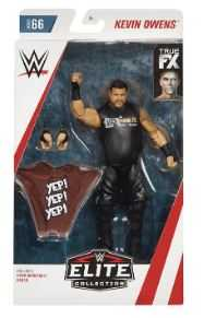 WWE ELITE COLLECTION KEVIN OWENS ACTIONFIGUR