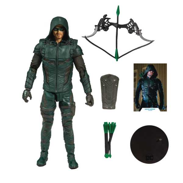 DC MULTIVERSE GREEN ARROW 7 INCH ACTIONFIGUR
