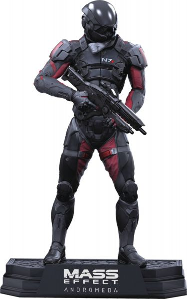 COLOR TOPS GREEN MASS EFFECT ANDROMEDA SCOTT RYDER ACTIONFIGUR
