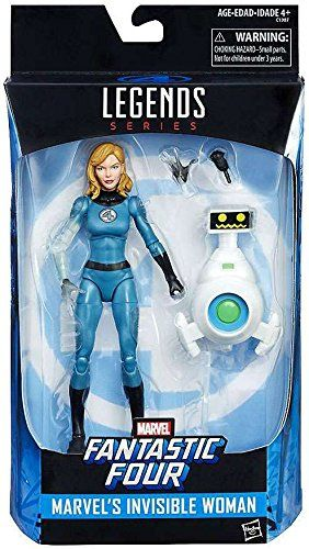 MARVEL LEGENDS FANTASTIC FOUR SUE STORM INVISIBLE WOMAN
