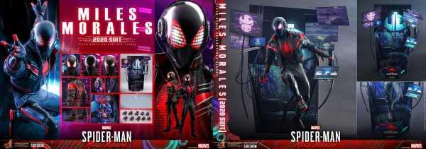 VORBESTELLUNG ! Marvel's Spider-Man Video Game Masterpiece 1/6 Miles Morales (2020 Suit) Actionfigur