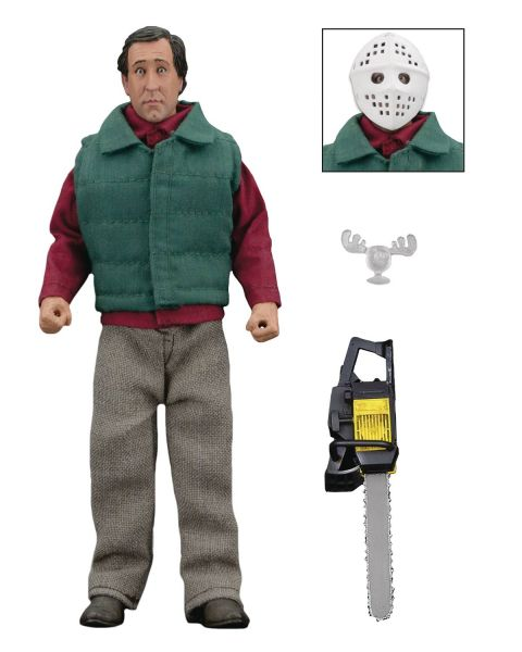 CHRISTMAS VACATION CHAINSAW CLARK 20 cm RETRO ACTIONFIGUR