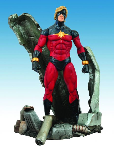 MARVEL SELECT CAPTAIN MARVEL ACTIONFIGUR