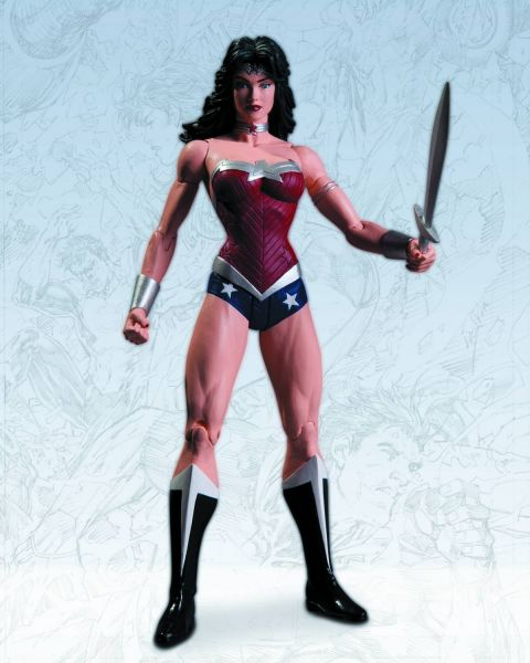 JUSTICE LEAGUE THE NEW 52 WONDER WOMAN ACTIONFIGUR