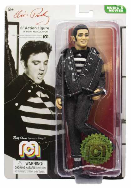 MEGO LEGENDS WAVE 6 ELVIS JAILHOUSE ROCK 20 cm ACTIONFIGUR