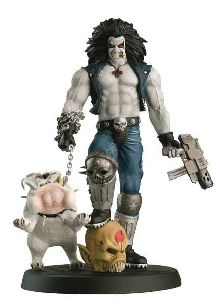 DC SUPERHERO BEST OF FIGURINE SPECIAL #7 LOBO FIGUR & MAGAZIN