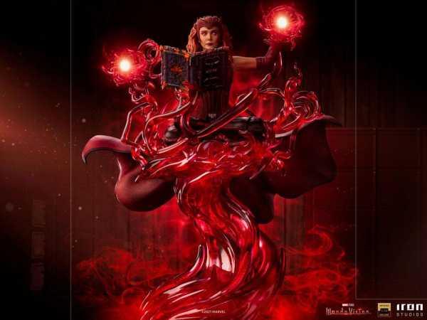 VORBESTELLUNG ! WandaVision 1/10 Scarlet Witch 24 cm Deluxe Art Scale Statue