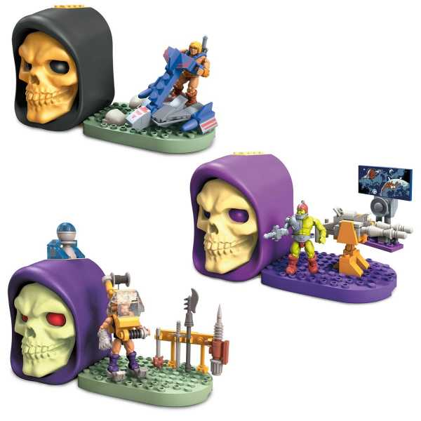 VORBESTELLUNG ! Mega Construx Masters of the Universe Skeletor Skull Case Set