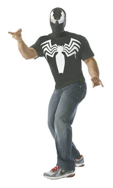 MARVEL VENOM T-SHIRT WITH MASK LARGE