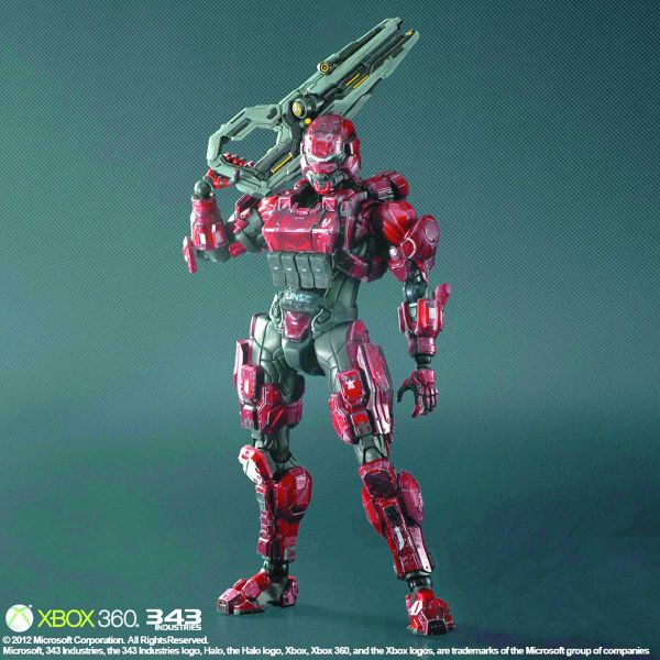 HALO 4 PLAY ARTS KAI SPARTAN SOLDIER ACTIONFIGUR
