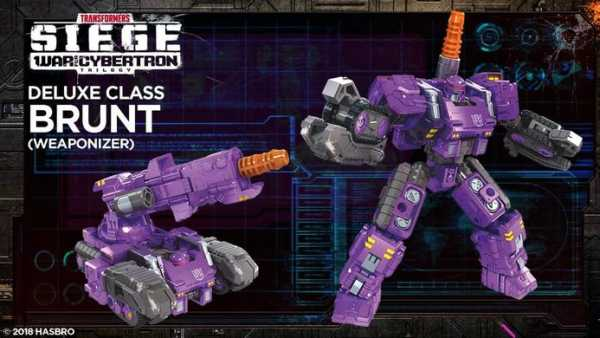 TRANSFORMERS GENERATIONS WAR FOR CYBERTRON: SIEGE DELUXE BRUNT ACTIONFIGUR