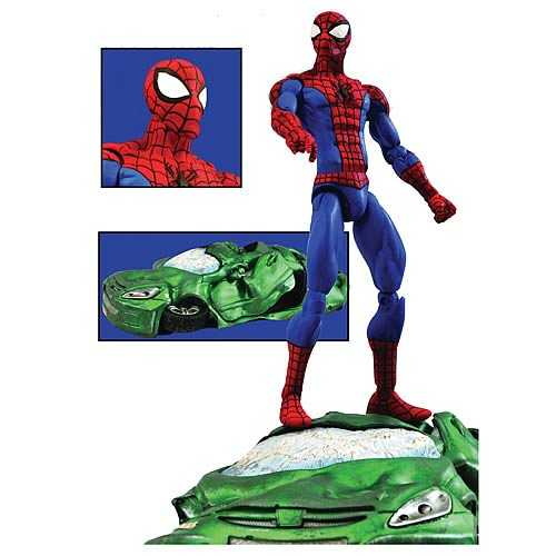 MARVEL SELECT SPIDER-MAN ACTIONFIGUR