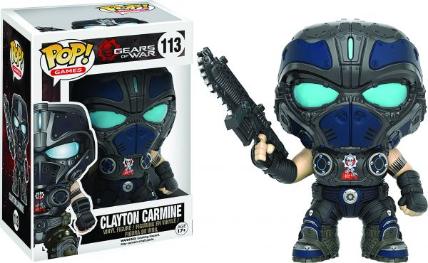 POP GEARS OF WAR CLAYTON CARMINE VINYL FIGUR