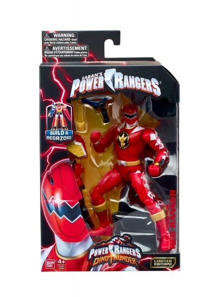 POWER RANGERS LEGACY DINO THUNDER RED RANGER ACTIONFIGUR