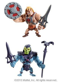 Masters of the Universe® Classics Mini He-Man® & Skeletor® Figures