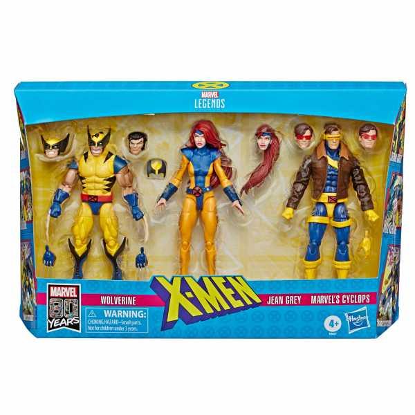 Marvel Legends X-Men Jean Grey, Cyclops, and Wolverine Exclusive