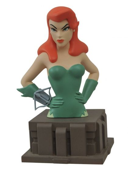 BATMAN ANIMATED SERIES POISON IVY BÜSTE