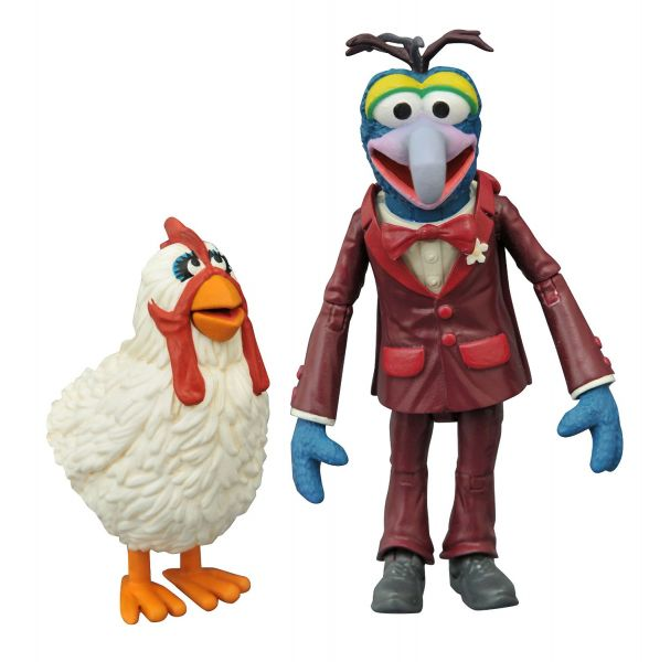 MUPPETS SELECT GONZO WITH CAMILLA ACTIONFIGUREN-SET