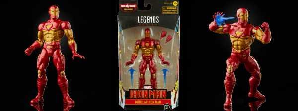 VORBESTELLUNG ! Comic Iron Man Marvel Legends Modular Iron Man 6 Inch Actionfigur