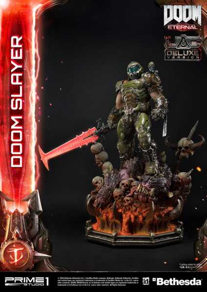 VORBESTELLUNG ! Doom Eternal Doom Slayer 110 cm Statue Deluxe Version