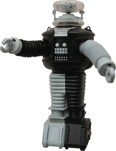 LOST IN SPACE B9 ELECTRONIC ROBOT ANTIMATTER VERSION ACTIONFIGUR