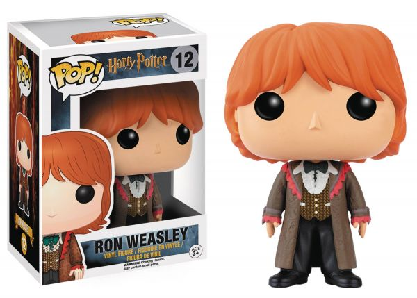 POP HARRY POTTER RON WEASLEY VINYL FIGUR defekte Verpackung