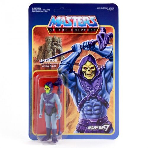 SUPER 7 MASTERS OF THE UNIVERSE SKELETOR RETRO 10cm ACTIONFIGUR