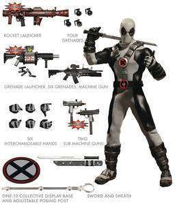 ONE-12 COLLECTIVE MARVEL X-FORCE DEADPOOL PX ACTIONFIGUR