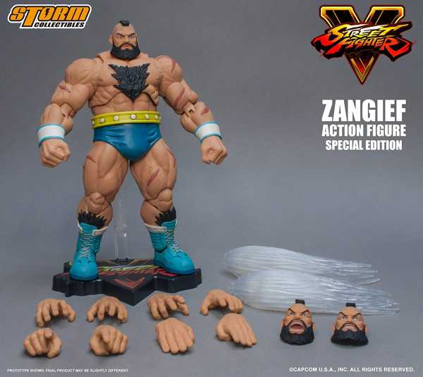 STORM COLLECTIBLES STREET FIGHTER V ZANGIEF 1/12 ACTIONFIGUR SPECIAL EDITION