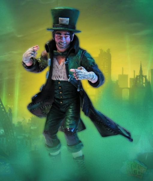 BATMAN ARKHAM CITY SER 2 MAD HATTER ACTIONFIGUR