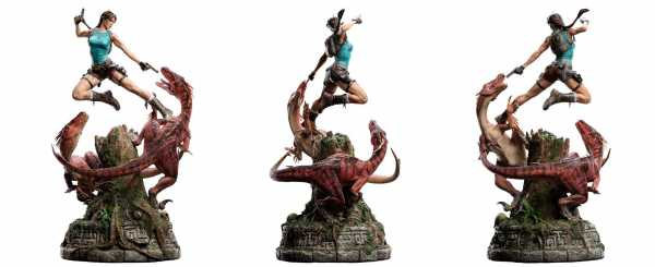 AUF ANFRAGE ! Tomb Raider 1/4 Lara Croft The Lost Valley 80 cm Statue