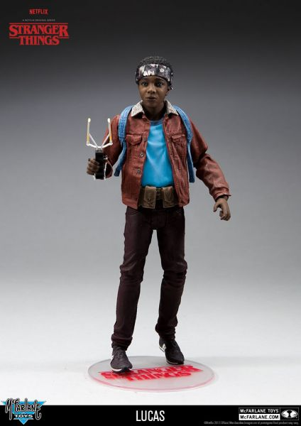 STRANGER THINGS 17,5 cm SERIES 2 LUCAS ACTIONFIGUR