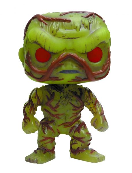 POP DC HEROES SWAMP THING GLOW IN THE DARK PX VINYL FIGUR defekte Verpackung
