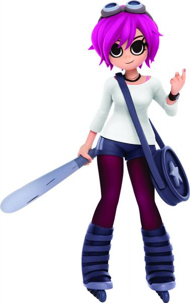 SCOTT PILGRIM RAMONA FLOWERS 22 cm PX COLLECTIBLE VINYL FIGUR