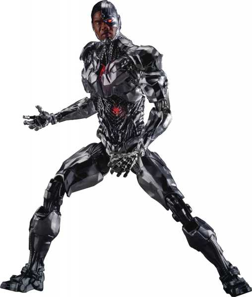 JUSTICE LEAGUE MOVIE DAH-008 DYNAMIC 8-CTION CYBORG ACTIONFIGUR