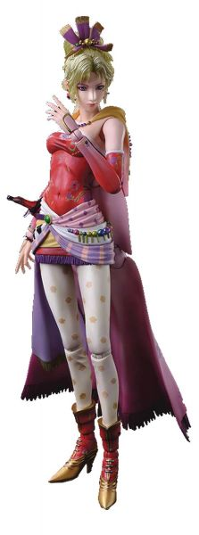 DISSIDIA FINAL FANTASY PLAY ARTS KAI TERRA BRANFORD ACTIONFIGUR