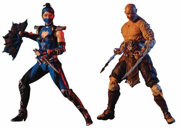 Mortal Kombat Series 3 Actionfiguren-Set