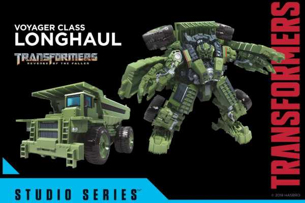 TRANSFORMERS GENERATIONS STUDIO SERIES VOYAGER LONG HAUL ACTIONFIGUR