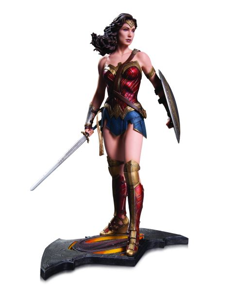 BATMAN V SUPERMAN DOJ WONDER WOMAN STATUE