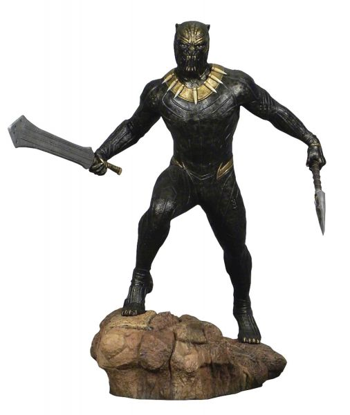 MARVEL GALLERY BLACK PANTHER MOVIE KILLMONGER PVC STATUE