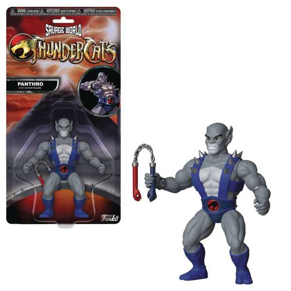 FUNKO SAVAGE WORLD THUNDERCATS PANTHRO ACTIONFIGUR