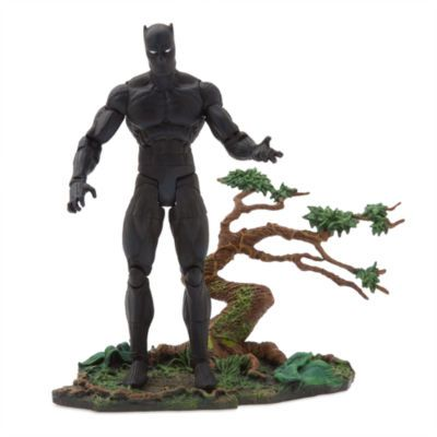 MARVEL SELECT BLACK PANTHER DISNEY EXCLUSIVE ACTIONFIGUR