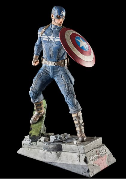 Captain America The Winter Soldier Statue Captain America 61 cm