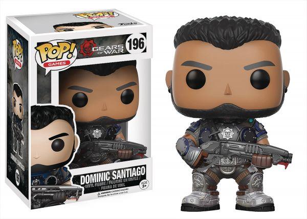 POP GEARS OF WAR DOMINIC SANTIAGO VINYL FIGUR