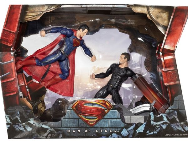 DC Man of Steel™ Movie Masters® Superman™ vs. General Zod Movie Pack