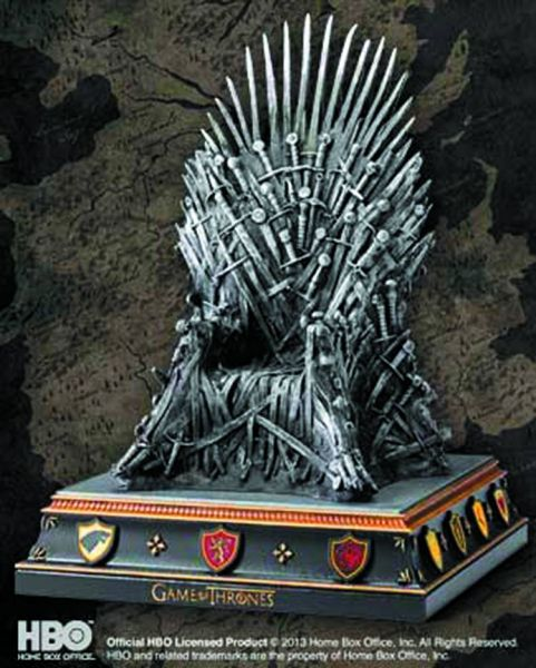 GAME OF THRONES IRON THRONE BUCHSTÜTZE